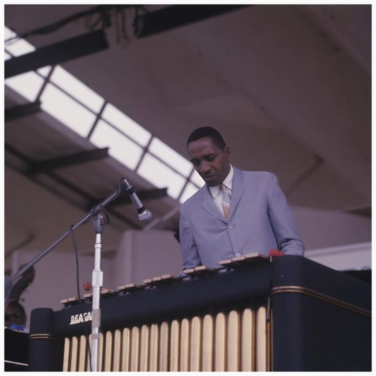 "themaninthegreenshirt: ""Milt Jackson at The Newport Jazz Festival in 1967 """