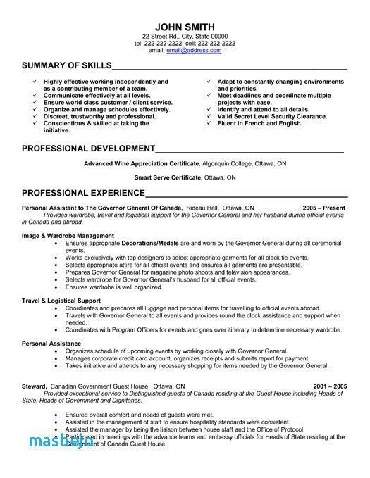 67 New Gallery Of Resume Examples 2017 Administrative Assistant