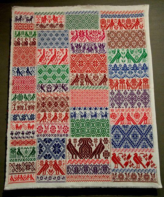 Hidalgo Mexico Embroidery Sampler   Flickr - Photo Sharing!