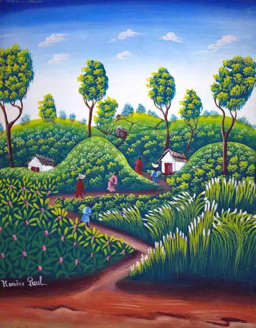 Haitian art.