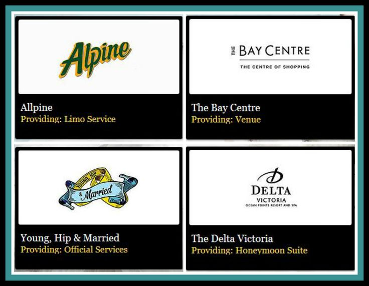 A Huge Thank You To The Following Exhibitors Alpine Limo, The Bay Centre, Young Hip Married, Delta Victoria