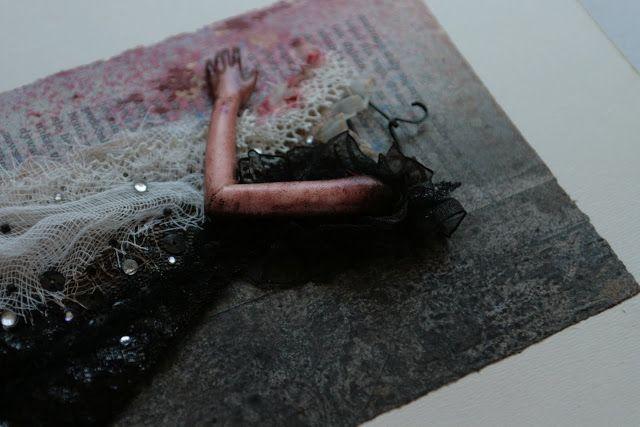 Blog pokazujący prace plastyczne z pogranicza technik: mixed-media, collage (kolaż), assemblage (asamblaż) autorka: Agnieszka Anna
