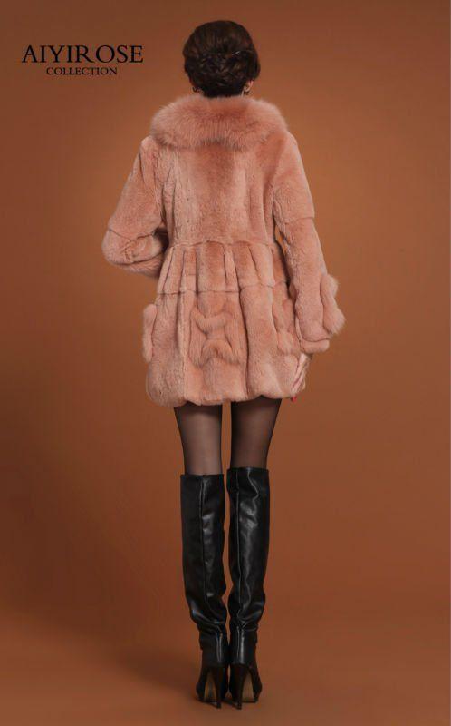 cuello de zorro abrigo de piel-Abrigos-Identificación del producto:642635444-spanish.alibaba.com