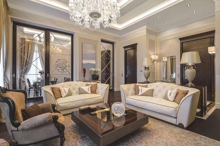 Современный классический интерьер квартиры в Италии от NG Studio / CURATED.ru