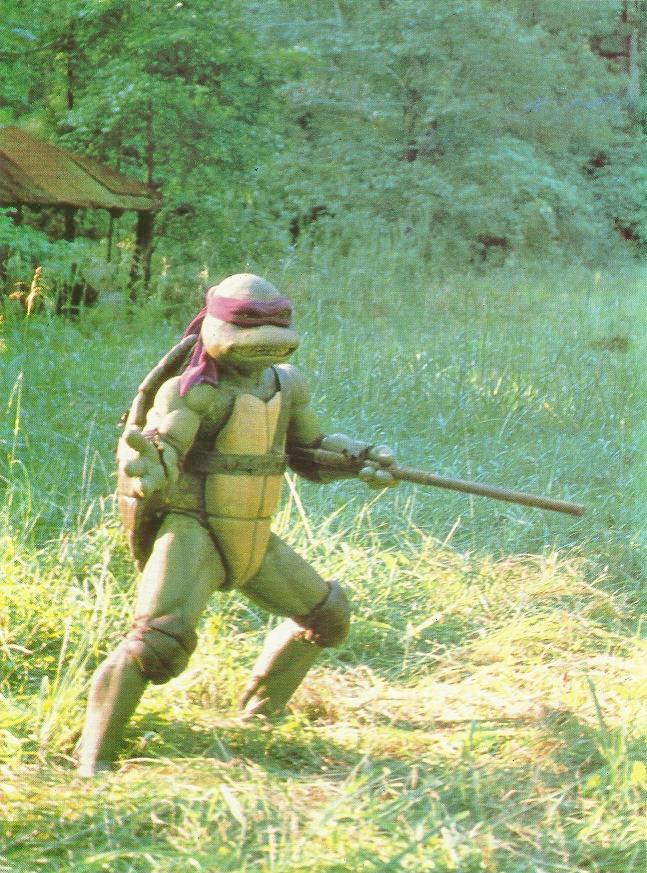 Teenage Mutant Ninja Turtles, love the old school WAY more