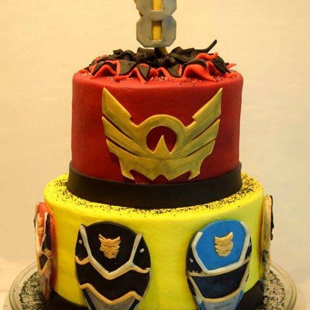 Mmpr Birthday Cake