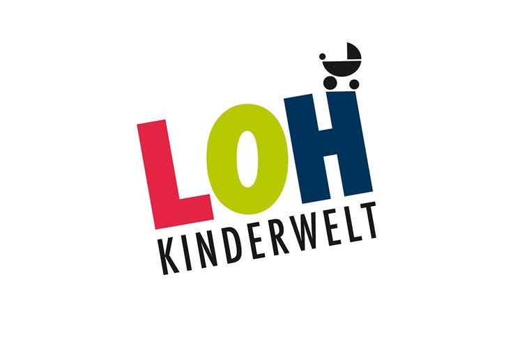 """Logo für den Kinderausstattungsladen """"Loh-Kinderwelt"""""""