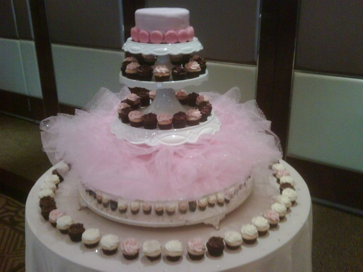 Tutu Cake Stand For The Baby Shower! YES!