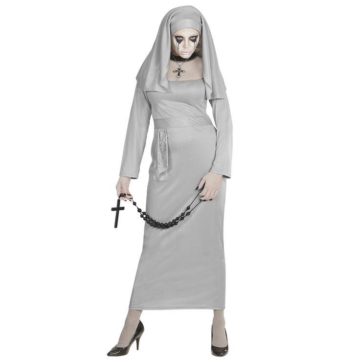 Disfraz Monja Fantasma Adulto - Comprar Online {Miles de Fiestas}