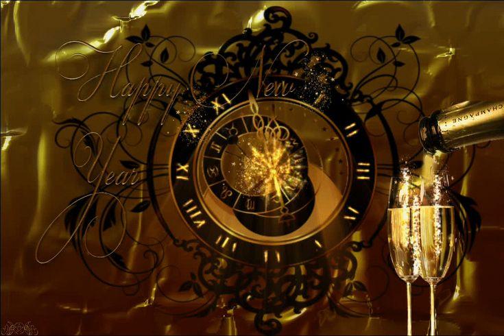 Szczęśliwego Nowego Roku - Happy New Year Gif's