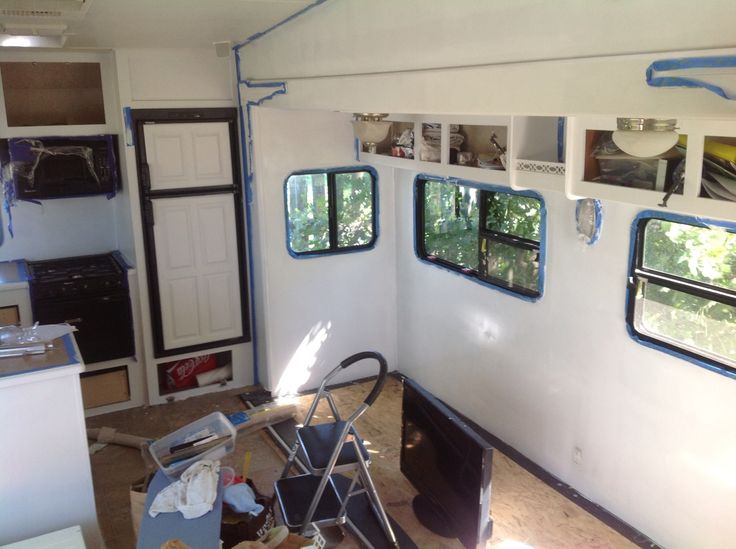 Renovating Our 5th Wheel Camper A Diy Follow The High