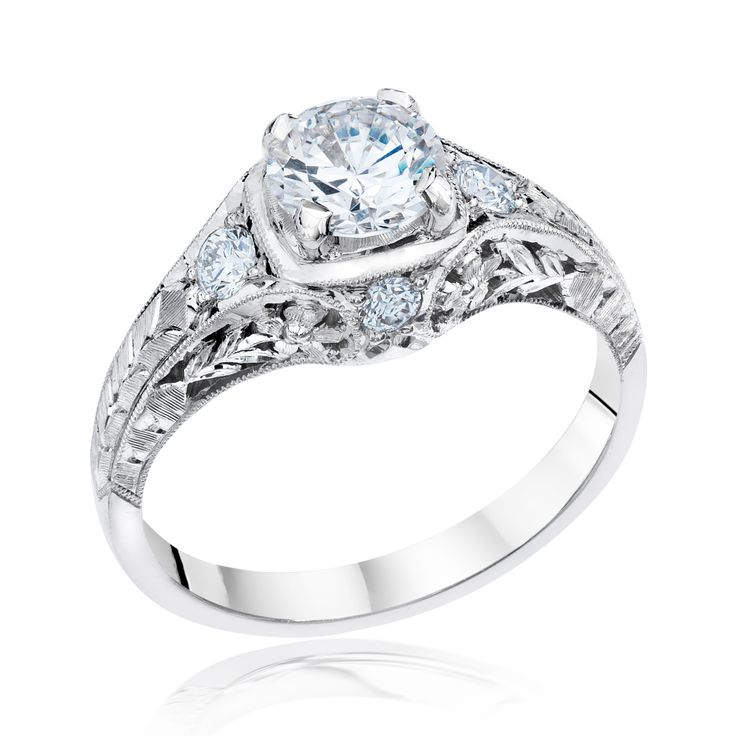 Simple Whitehouse Brothers Engagement Rings for Sale Online Loose Diamonds