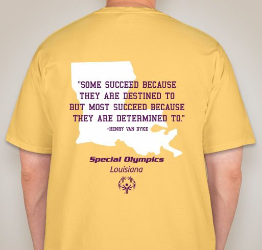 Special Olympics Louisiana: Dance  Fundraiser - unisex shirt design - small - back