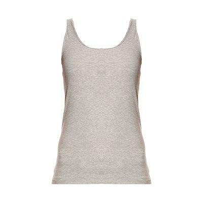 Prezzi e Sconti: Vero #moda canotta grigio chiaro Donna  ad Euro 9.95 in #Top canotte #T shirts