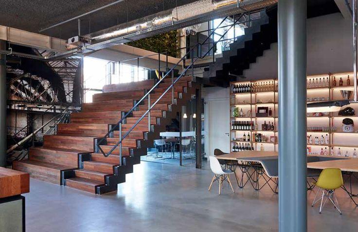 Op de NDSM werf in Amsterdam heeft Lutter&Lotgering de gehele inbouw voor Pernod Ricard gerealiseerd. Onder begeleiding van Procore en in samenwerking met BEVO Waarland is het eindresultaat er een om trots op te zijn.
