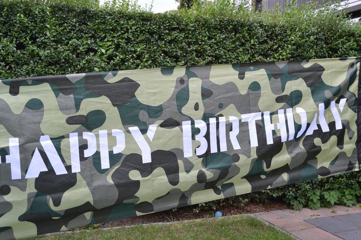 Legervlag: om je leger feestje helemaal af te maken in stijl!