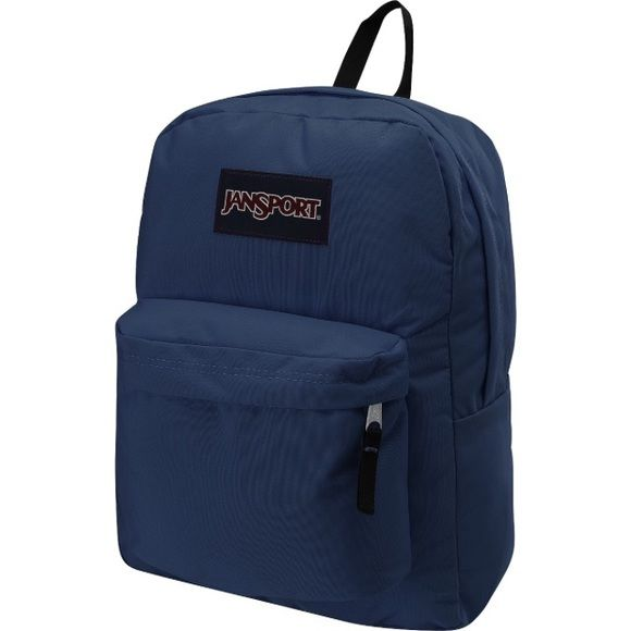 """Classic Jansport backpack Dark blue Jansport backpack. Gently used, in great condition! 16.7""""x 13"""" x 8.5"""" Jansport Bags Backpacks"""