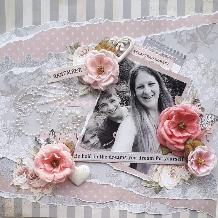 Romantique papers from Kaisercraft