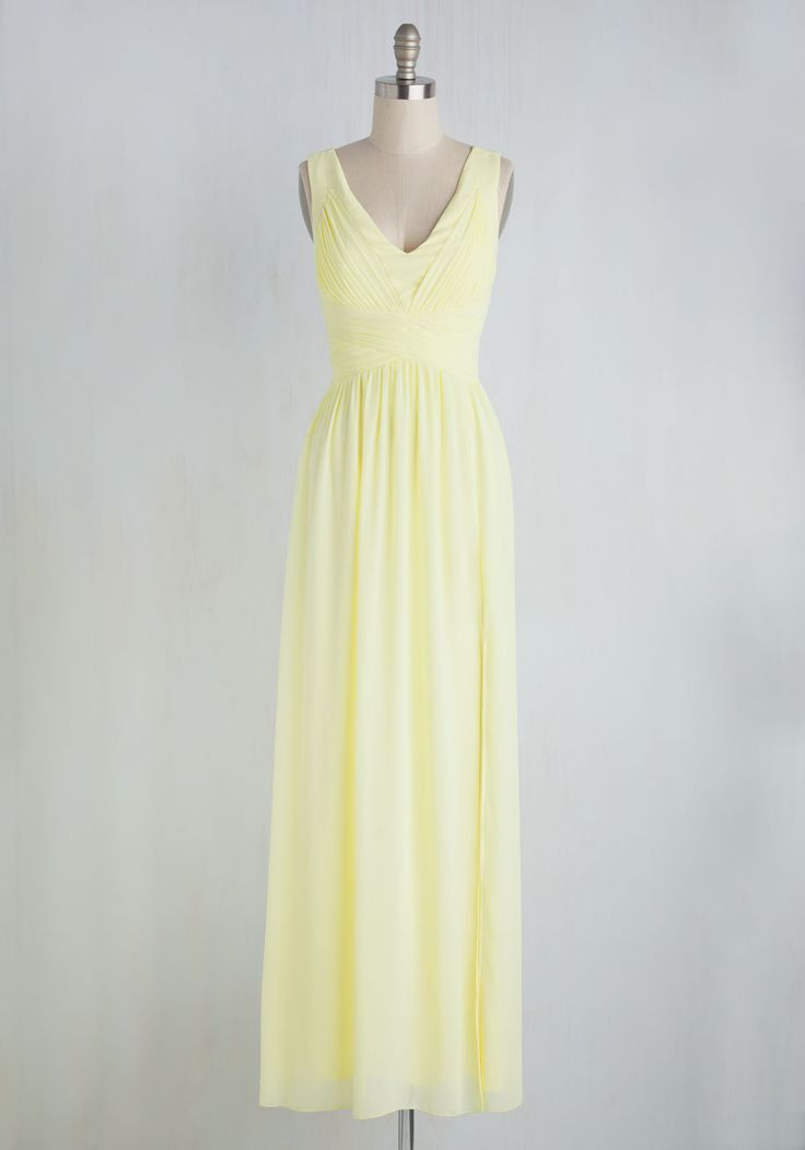 120 best best dressed guest images on pinterest feminine for Yellow wedding guest dress