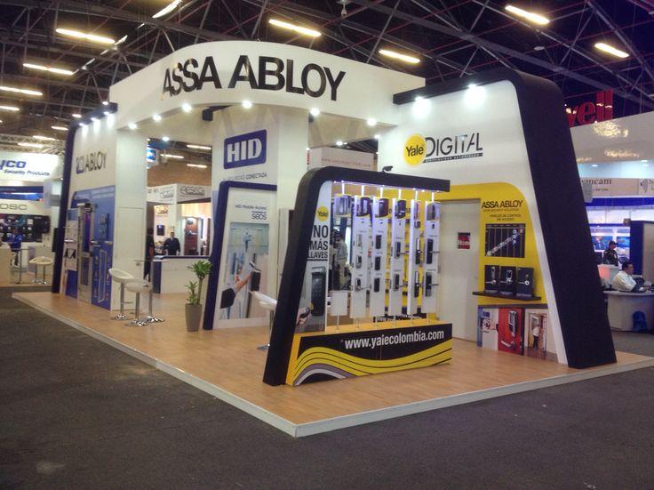 Stand ASSA ABLOY / feria de seguridad y eficiencia