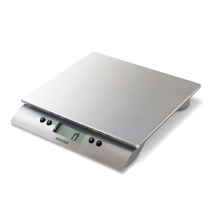 Salter Aquatronic Stainless Steel Electronic Digital Kitchen Scales