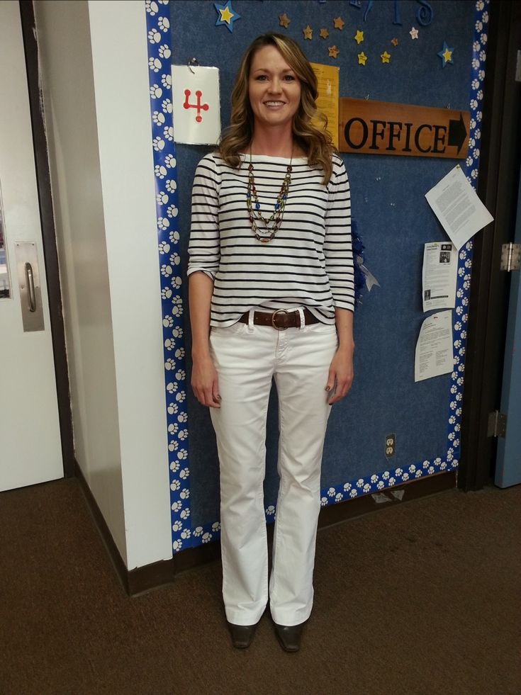 Teacher clothes - professional but ok for hot weather and ...