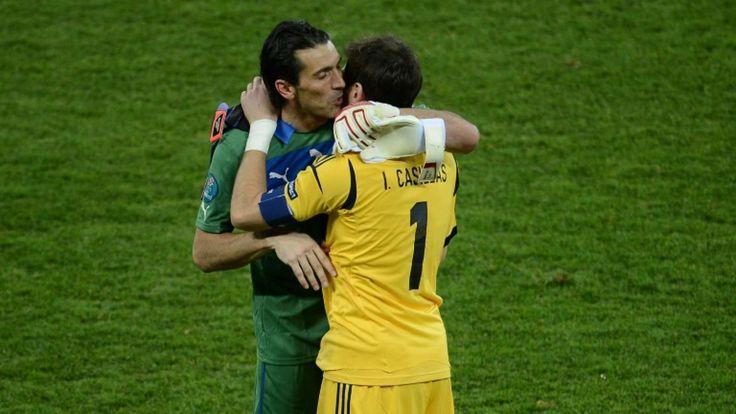 Casillas/Buffon: Age-defying goalkeepers renew rivalry