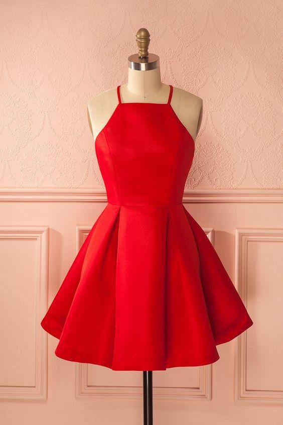red homecoming dress, short homecoming dress,2017 homecoming dress,homecoming dresses