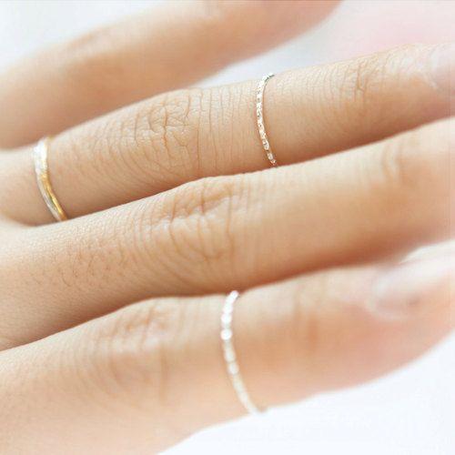 simple thin rings