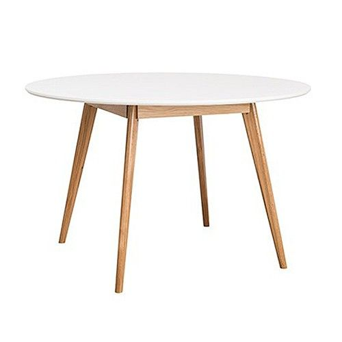 Oslo Round Dining Table - White
