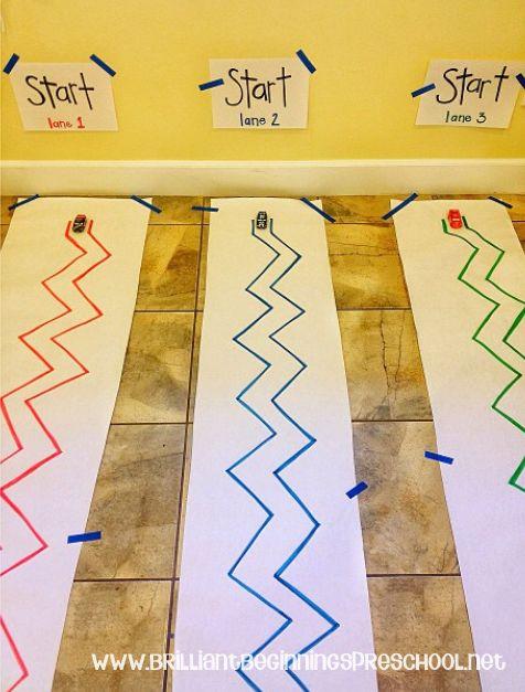 Préparation au graphisme:lignes droites...