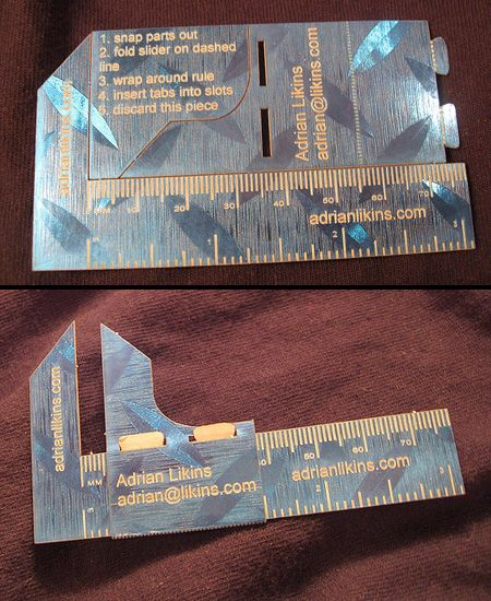 Caliper Business Card