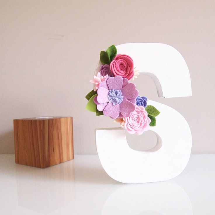 FLORAL LETTER available now in shop to order. Link in profile  good night