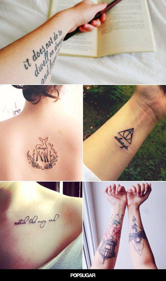Pin for Later: 56 Tatouages Inspirés Par Harry Potter Qui Ferraient la Fierté de J.K. Rowling
