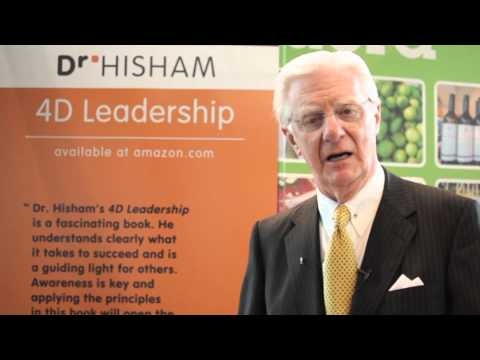 Dr. Proctor Speaks about Dr. Hisham's new book 4D leadership. Launching May 29, 2013