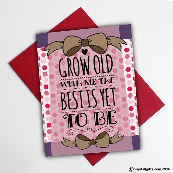true love card printable anniversary card for