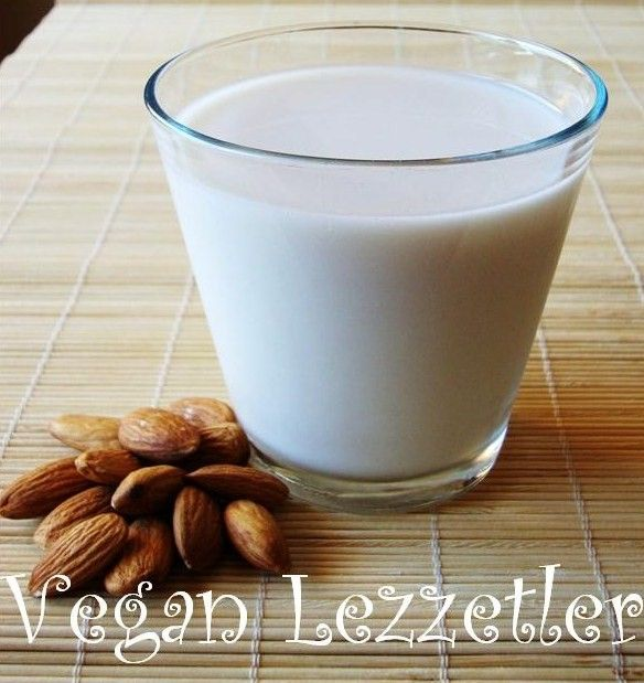 Vegan Lezzetler: Pratik Badem Sütü Yapımı
