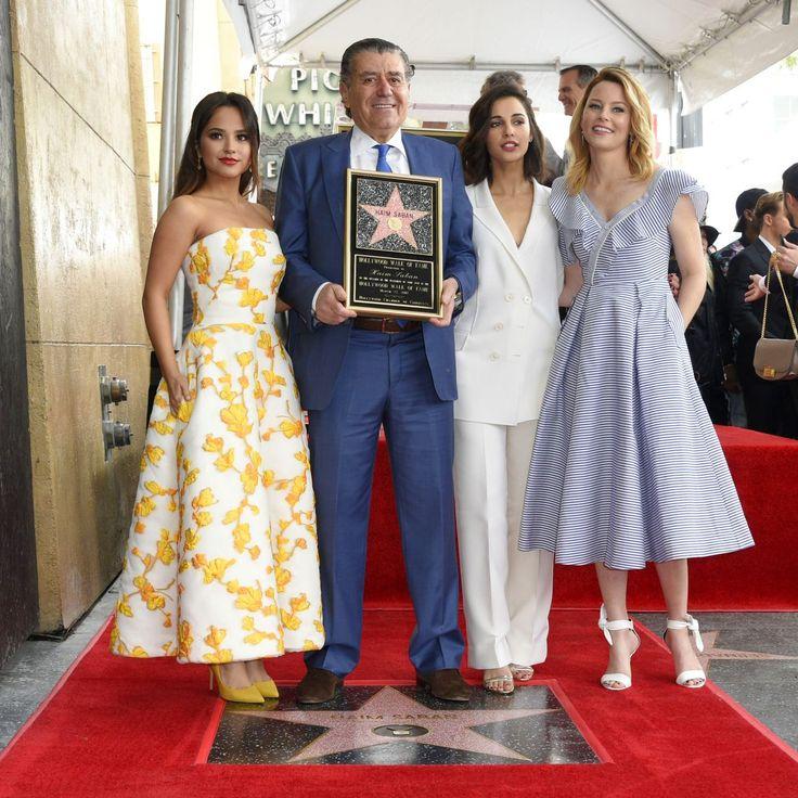 Becky G #BeckyG Elizabeth Banks Naomi Scott  Haim Saban Honored With a Star on The Hollywood Walk of Fame in LA 22/03/2017 Celebstills Becky G