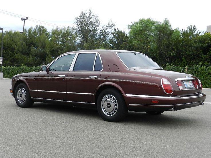 Rolls-Royce Silver Seraph Sedan Red