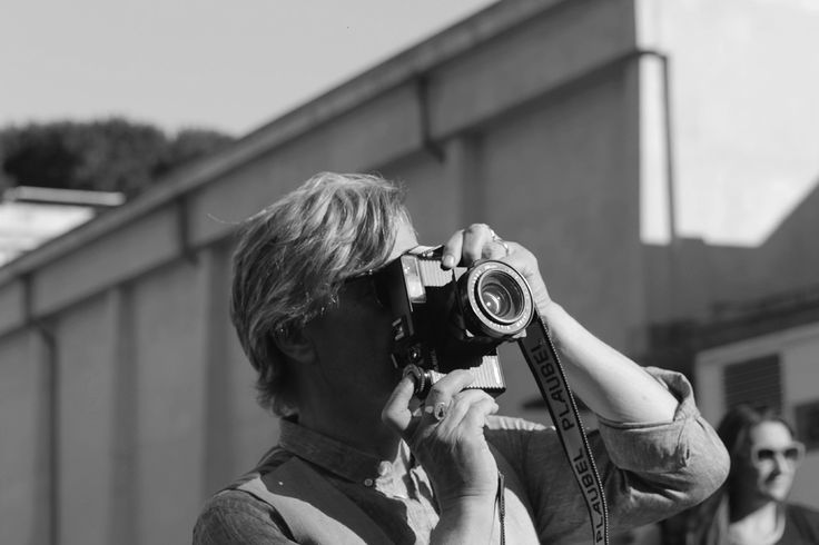 On set :: Wim Wenders and the making of 'Vai Paparazzo' @ http://pers.sl/zq3g