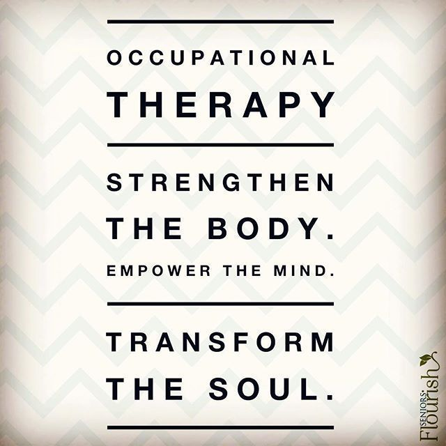What are some ways Occupational Therapy has touched your life? | SeniorsFlourish.com #geriatricOT #OT