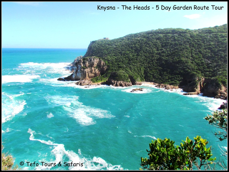 The Garden Route South Africa  Knysna - The Heads