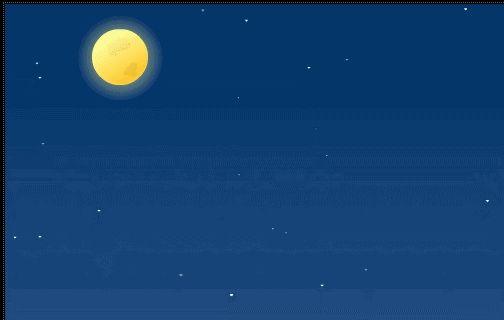 Wierszyki i gify na dobranoc: Gify na dobranoc zwierzeta