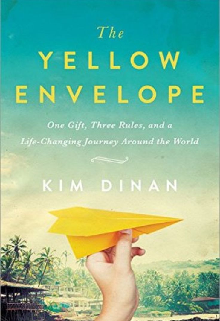 #bookreview: The yellow envelope by Kim Dinan – B. || From Ecuador to Argentina, from Nepal to Indonesia, Kim and Brian's journey entertains the reader while teaching him that life has to be taken as it is, without forcing it or trying to be something we're not meant to be.