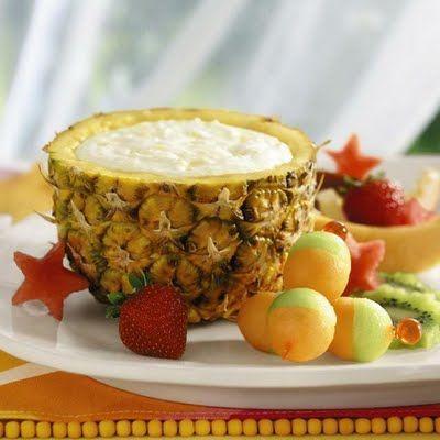 Pineapple fruit dip...must try!