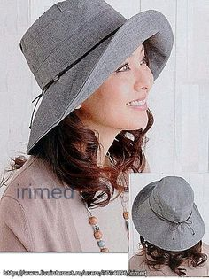Free pattern for this hat style from Irimea #millinery #judithm #hats
