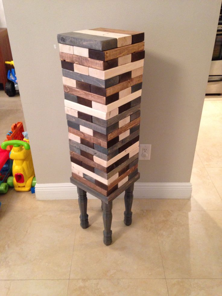 Giant Jenga Game Block Game Wood Game Wood Table Our