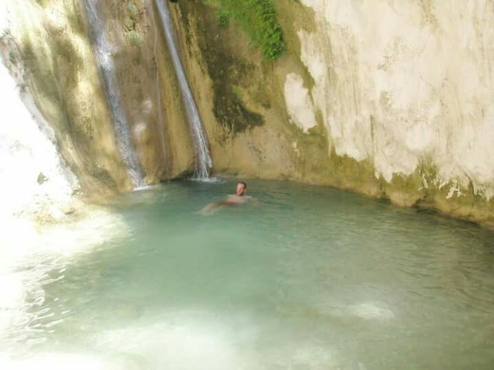 Nydri Waterfall (Καταρράκτης Νυδριού) στην περιοχή Ελλομένου