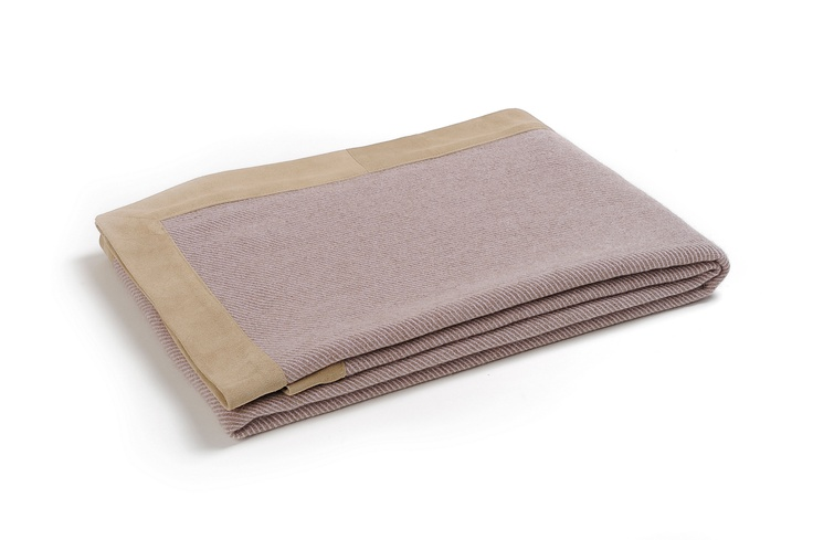 Buy LAUSANNE LILAC #CASHMERE THROW online. Amancara, #luxury linens since 1952.