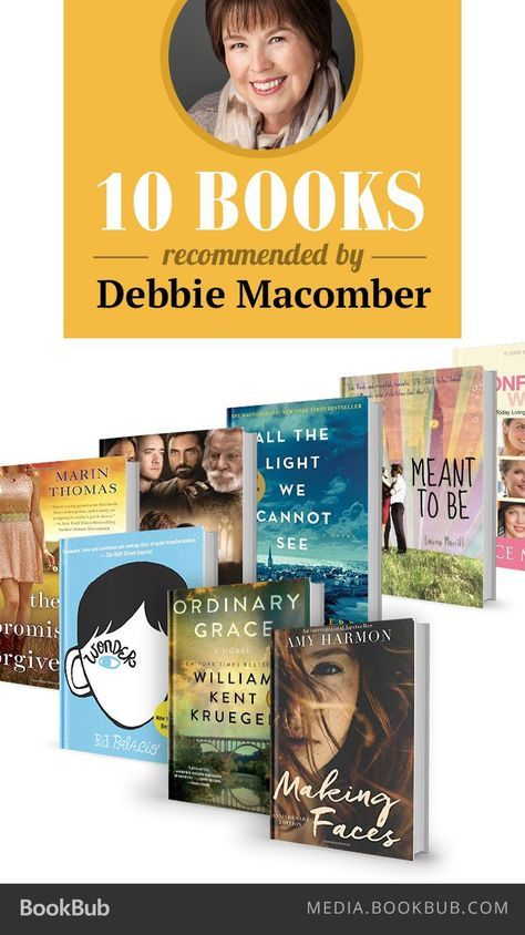 Debbie Macomber recommends a blend of historical fiction, romance, and advice.